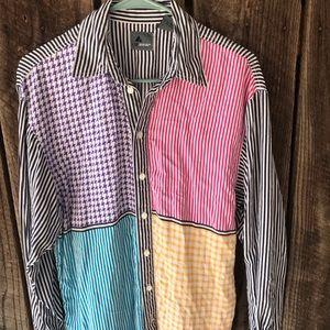 Vintage Lizwear small color block button down